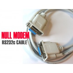 DB9 Null Modem Cable for RS232