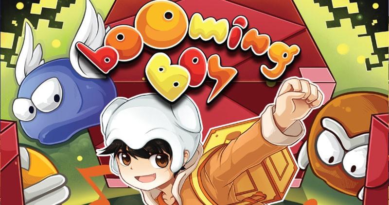 Booming boy