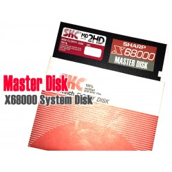 X68000 Master disk