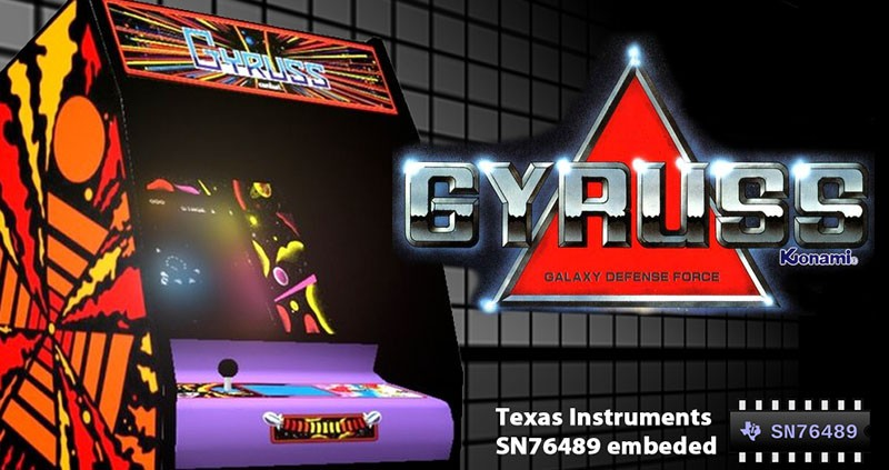 Gyruss Arcade For MSX